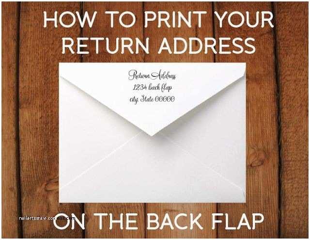 What To Put On  Invitations  Invitation Lovely Return Address