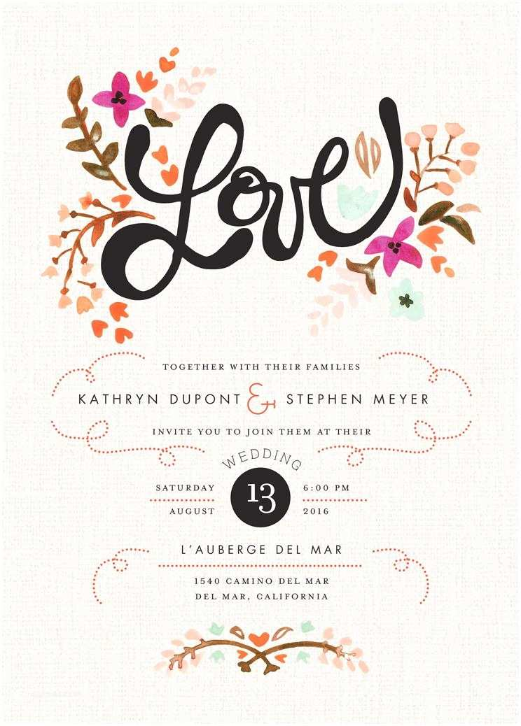 What To Put On Wedding Invitations Wedding Invitations Wedding
