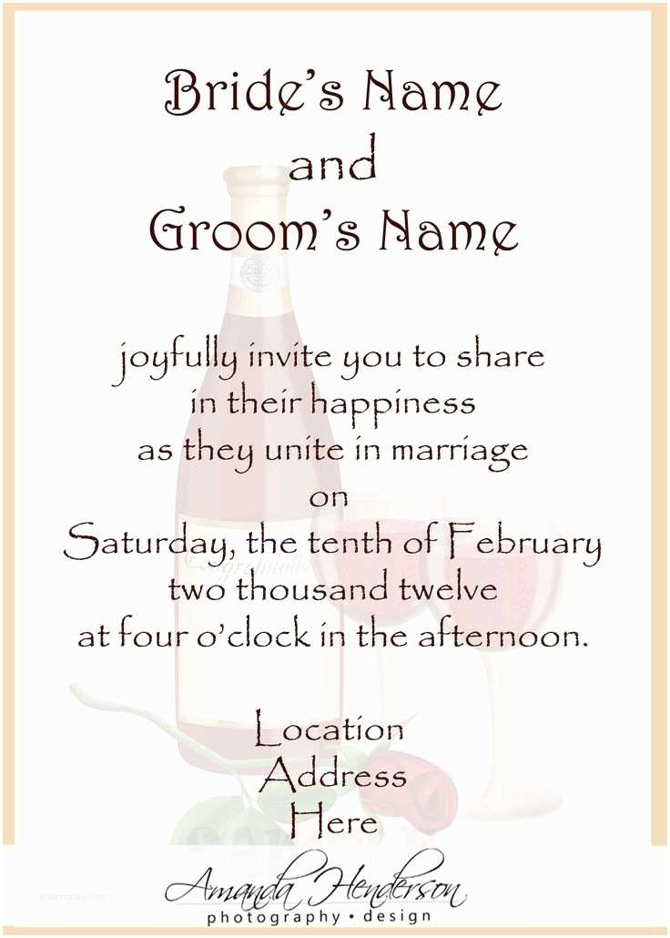 What to Write On Wedding Invitations 25 Best Ideas About Wedding Invitation Wording On