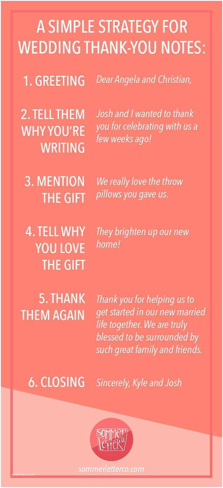 What to Write On Wedding Invitations A Simple Strategy for Writing Wedding Thank You Notes