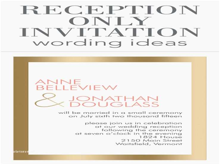 What to Write On Wedding Invitations Reception Ly Invitation Wording