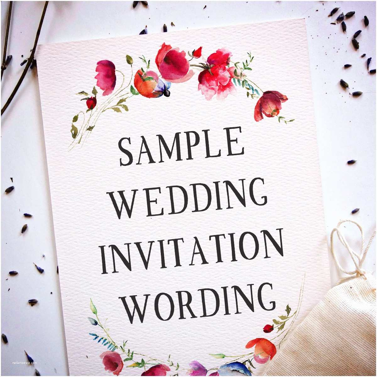 What to Write On Wedding Invitations Wedding Invitation Wording Samples From Traditional to
