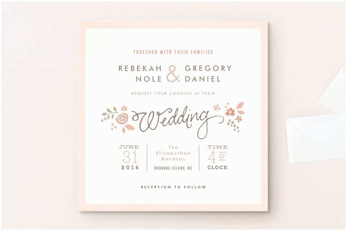What to Write On Wedding Invitations Wedding Invitation Wording that Won T Make You Barf