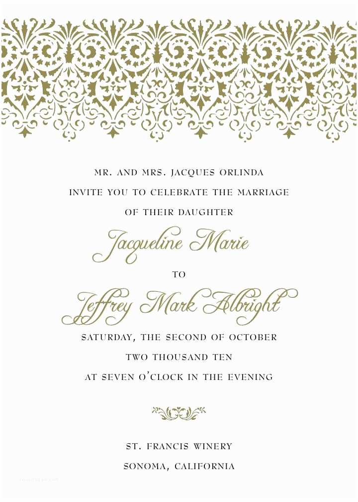 What to Write On Wedding Invitations What to Write A Wedding Invite Invitation Su Wedded