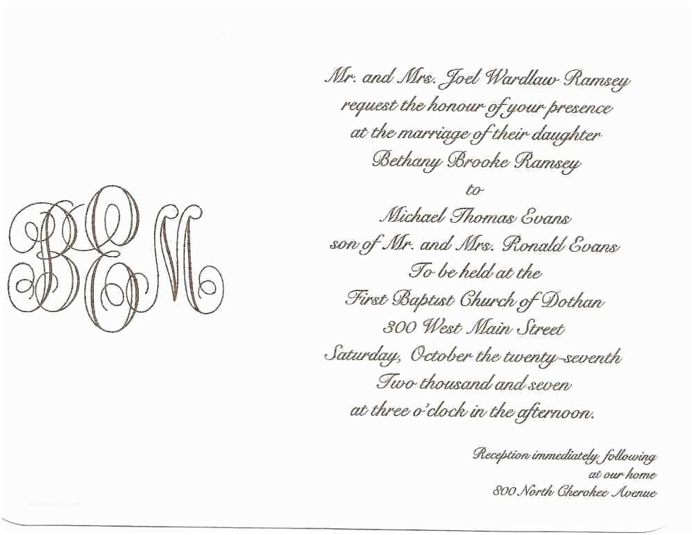 What to Write On Wedding Invitations What to Write In A Wedding Invitation