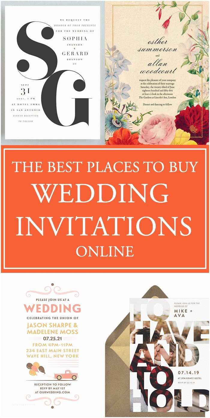 When to order Wedding Invitations the Best Places to Buy Your Wedding Invitations Line