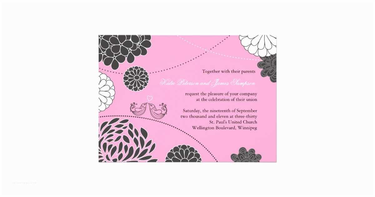 Whimsical Wedding Invitations Whimsical Wedding Invitation