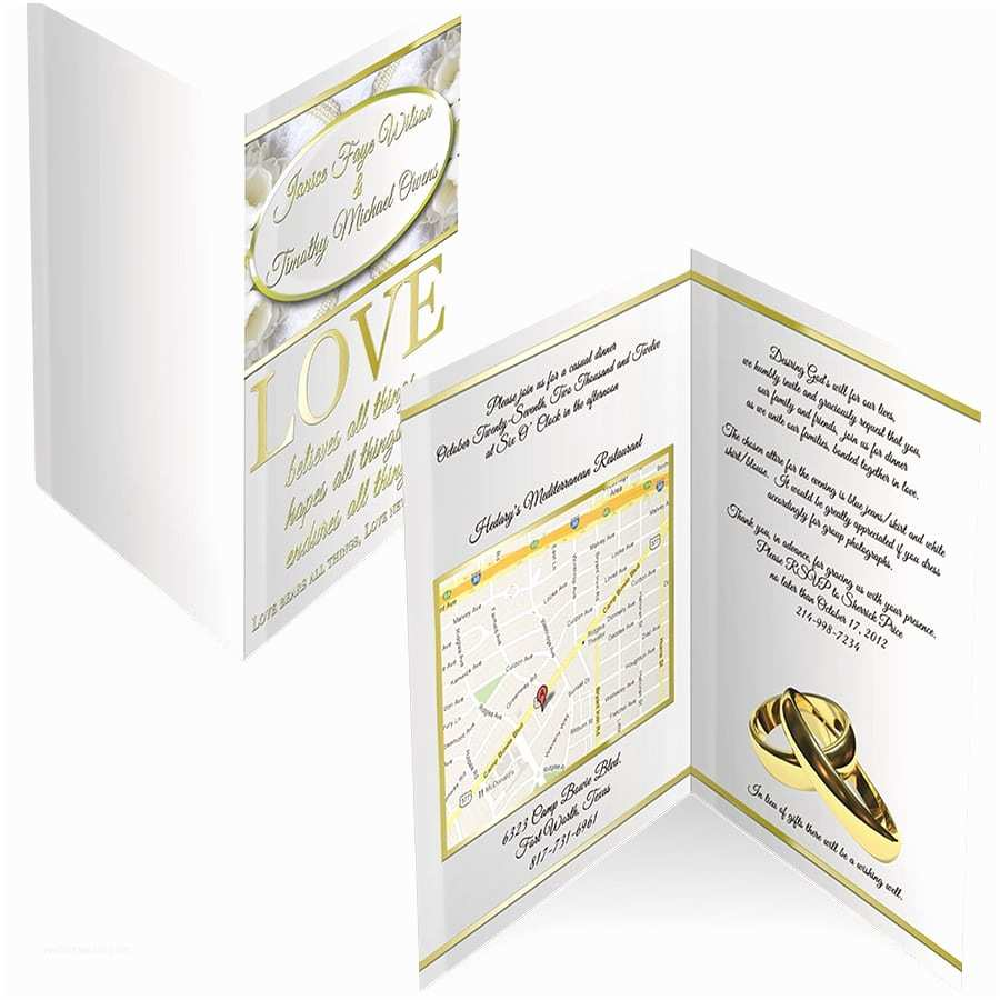 White and Gold Wedding Invitations White and Gold Wedding Invitations Branding U Promotions