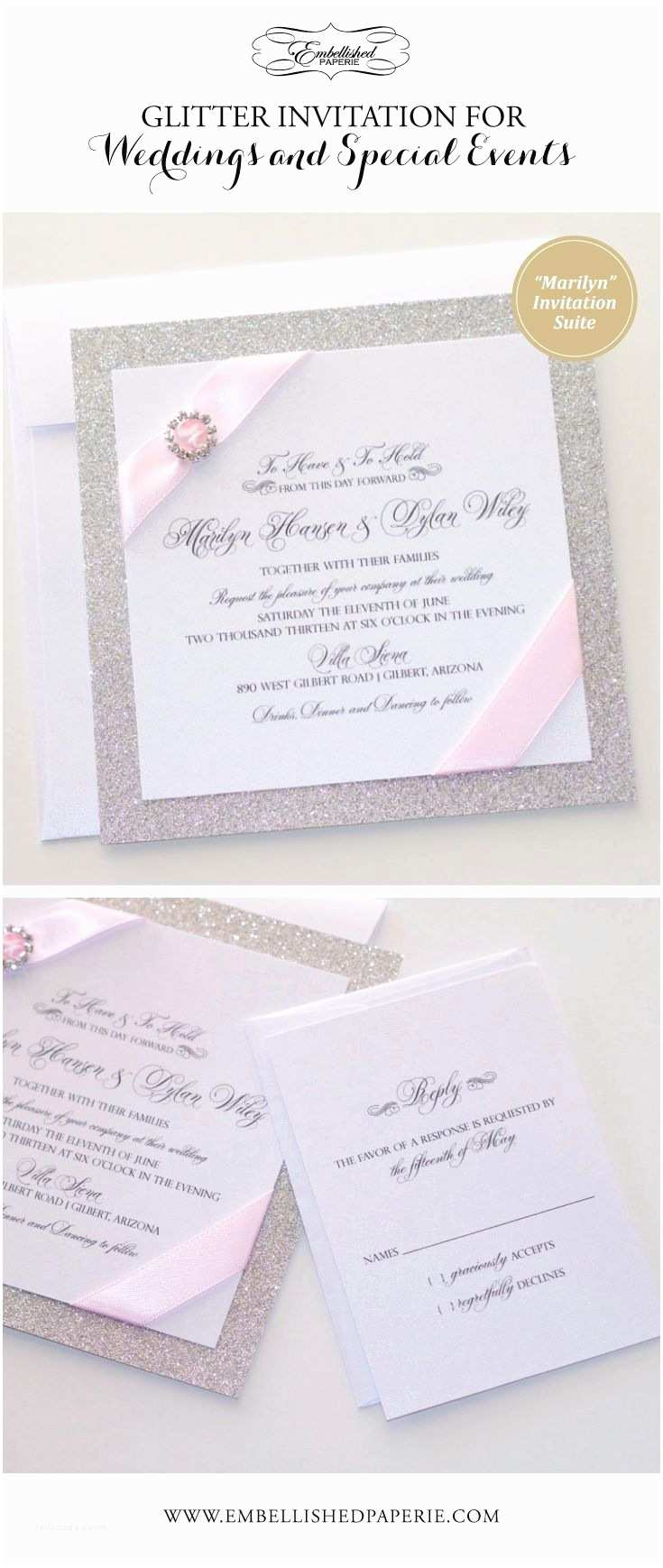 White And Silver Wedding Invitations 1000 Ideas About Pink Silver Weddings On
