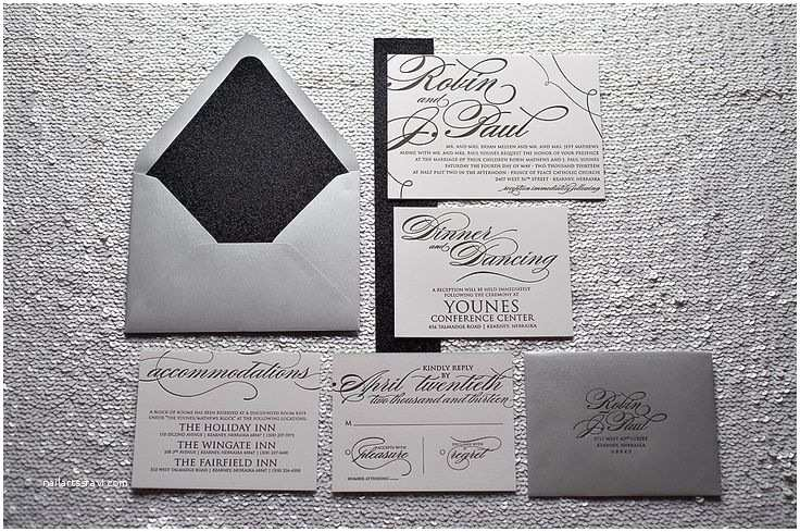 White And Silver Wedding Invitations 1000 Ideas About Silver Wedding Invitation Suites