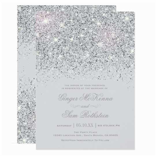 White and Silver Wedding Invitations Elegant Silver Teal Blue Wedding Invitations