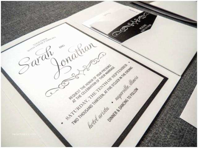 White And Silver Wedding Invitations Enchanting Vintage Wedding Invitation Shown In