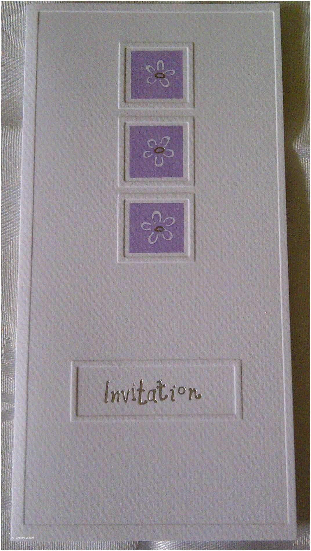 White And Silver  Invitations Lilac And White  Invitations Sale Cas