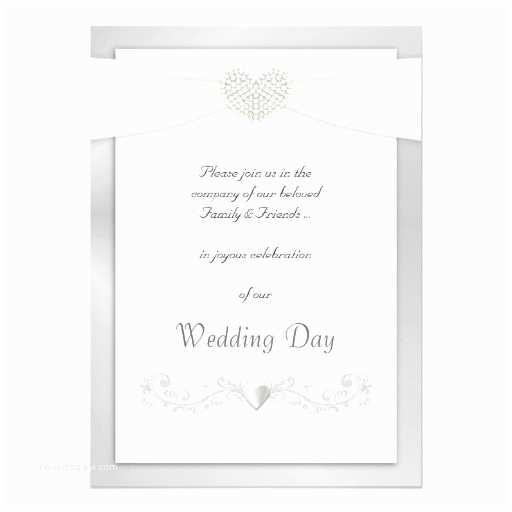 White and Silver Wedding Invitations Silver and White Wedding Invitations