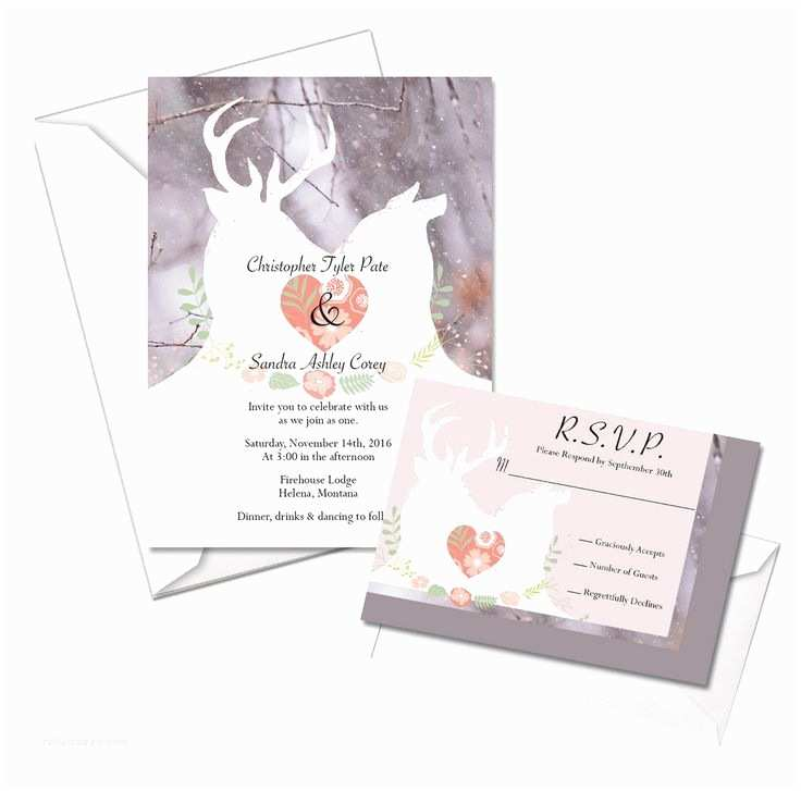 White Camo Wedding Invitations 10 Best Deer & Camo Wedding Images On Pinterest