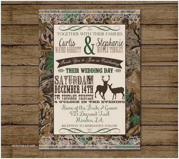 White Camo Wedding Invitations 20 Unique Camouflage Wedding Ideas Hative