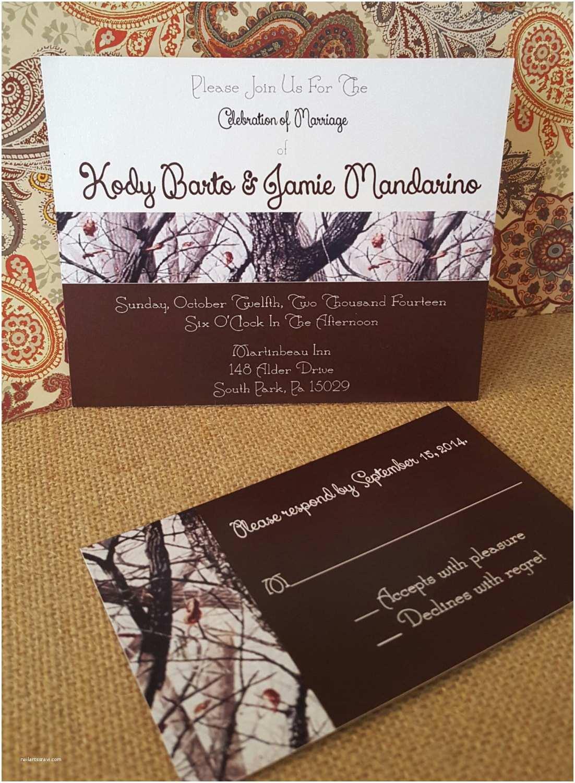 White Camo Wedding Invitations Snow Camo Wedding Invitation Printable