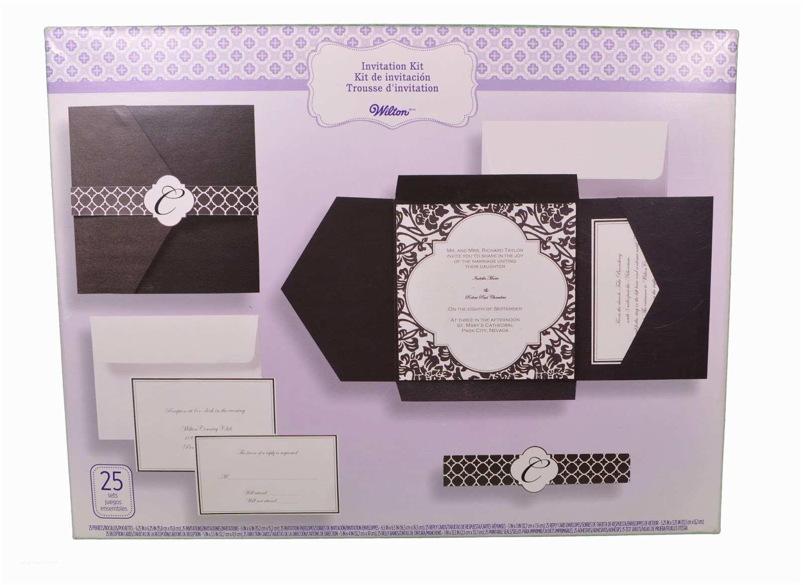 White Wedding Invitation Kit Modern Wedding Invitations Homemade Wedding Invitation Kits