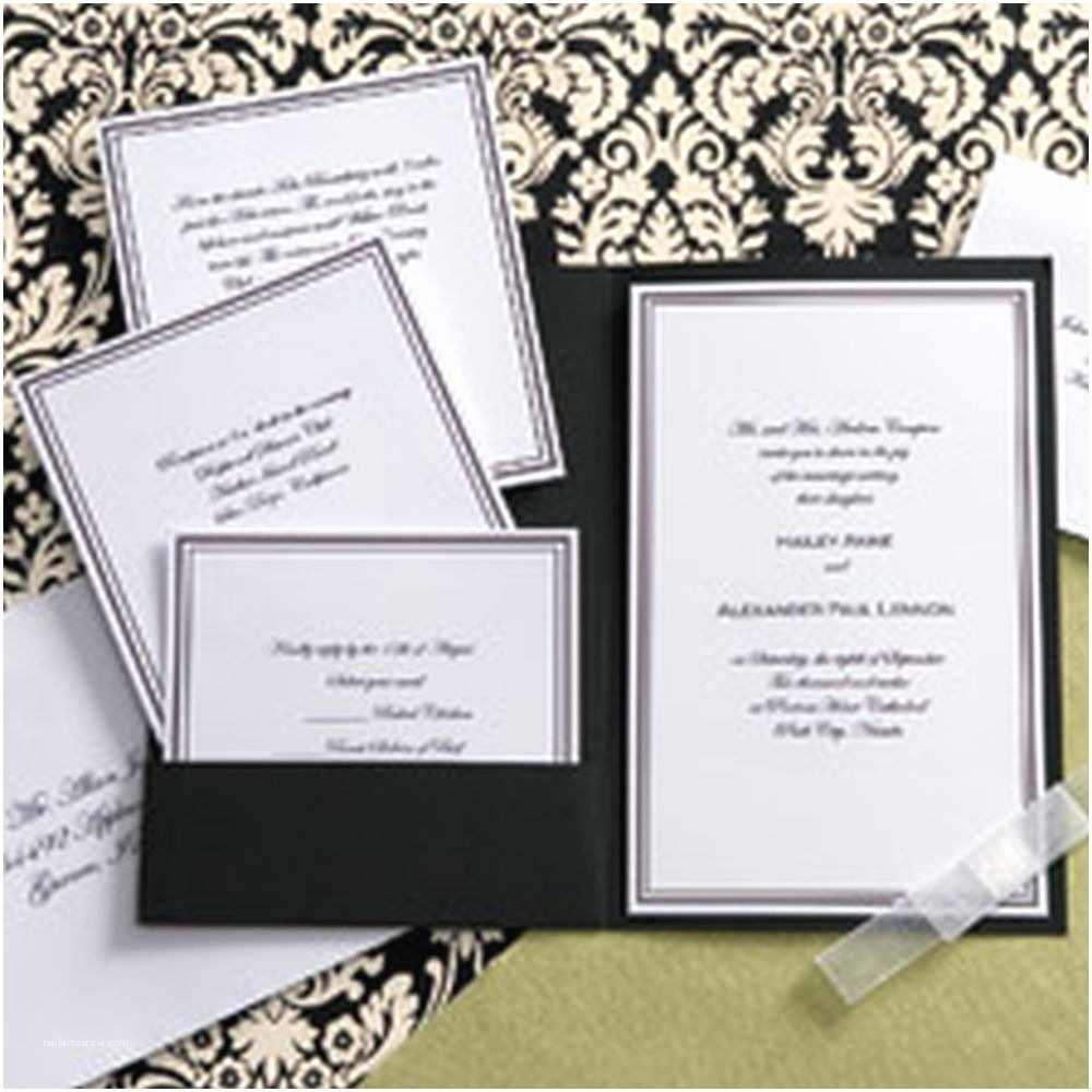 White Wedding Invitation Kit Wilton Wedding Invitations – Gangcraft