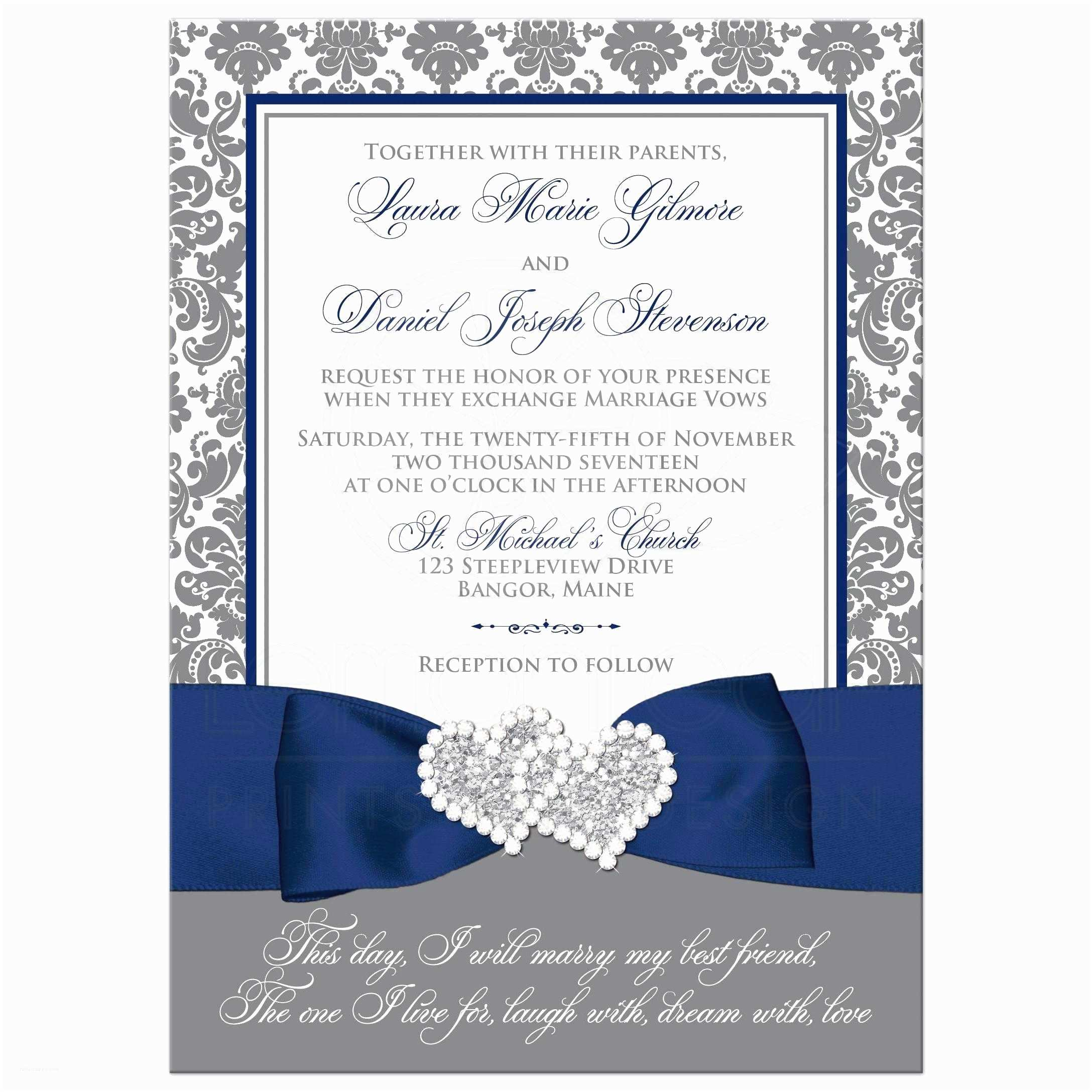 White Wedding Invitations Stunning Blue and White Wedding Invitations Contemporary