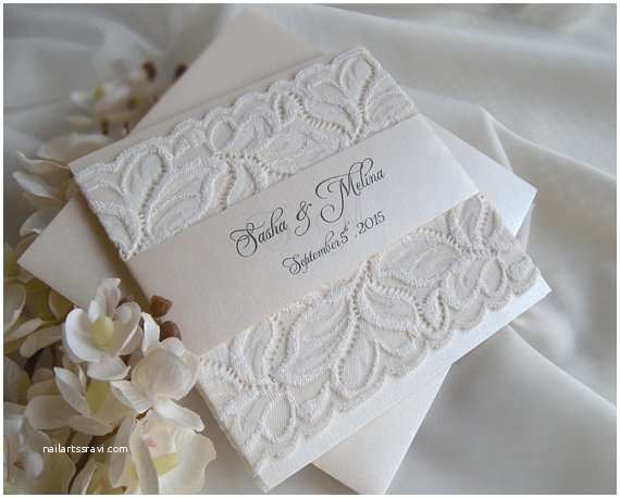 wedding invitation lace wedding invitation gold wedding invitation white gold weddings