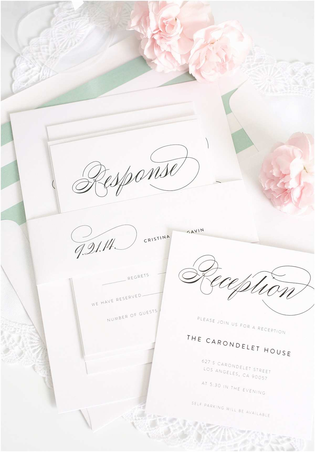 White Wedding Invitations White Elegant Wedding Invitation Elegant Wedding