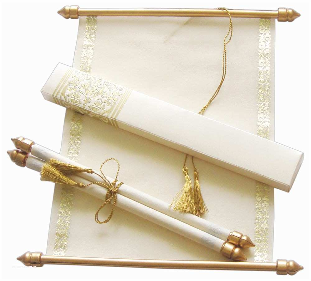 Wholesale Scroll Wedding Invitations Scroll Wedding Invitation Wedding Scrolls S864