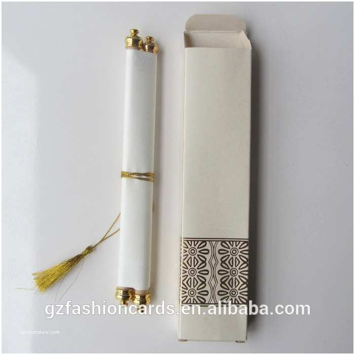 Wholesale Scroll Wedding Invitations wholesale 2015 Luxury Royal Scroll Wedding Card