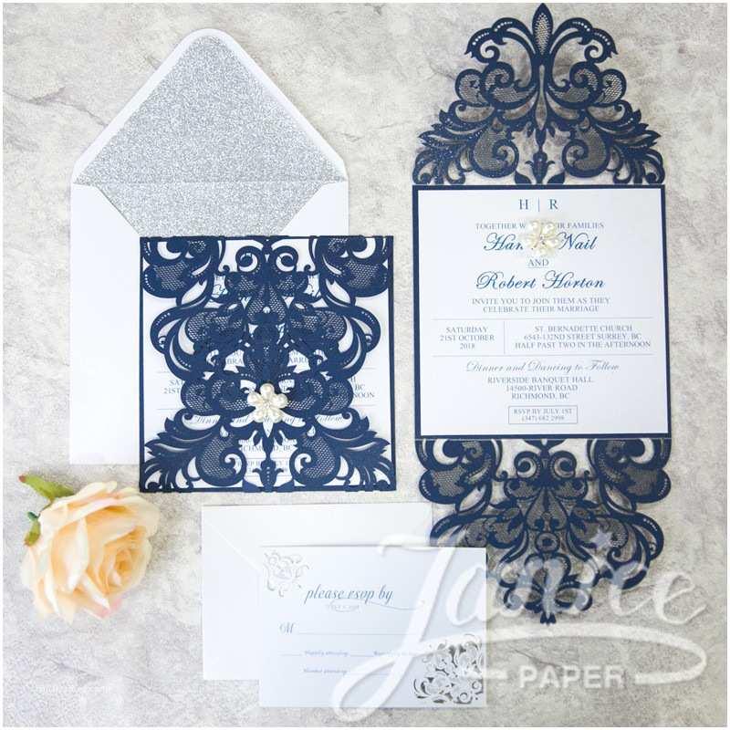 Wholesale Wedding Invitation Albums Elegant Laser Cut Wholesale Wedding Invitation