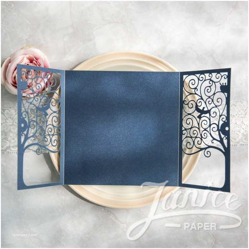 Wholesale Wedding Invitation Albums Mysterious Tree Of Life Laser Cut wholesale Wedding