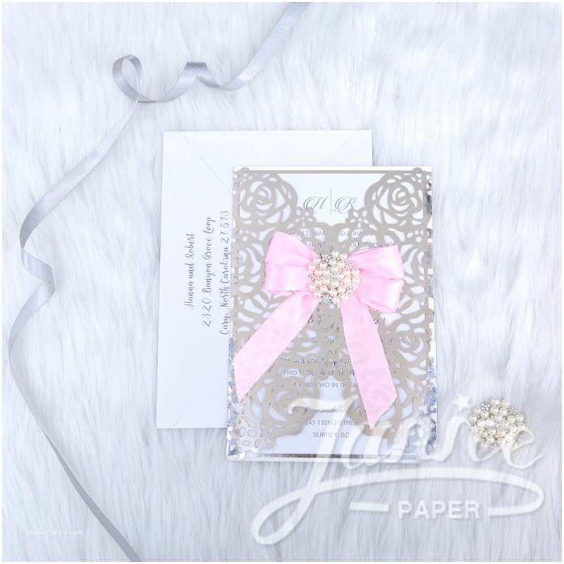 Wholesale Wedding  Albums Rose Design Foil Laser Cut Wholesale Wedding