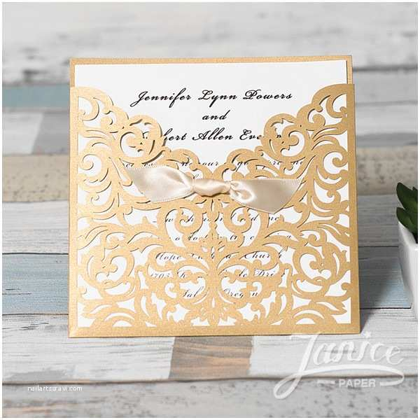 Wholesale Wedding Invitation Albums wholesale Laser Cut Wedding Invites