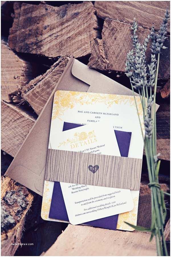 Wildflower Wedding Invitations Kate Hillary S Rustic Wildflower Wedding Invitations