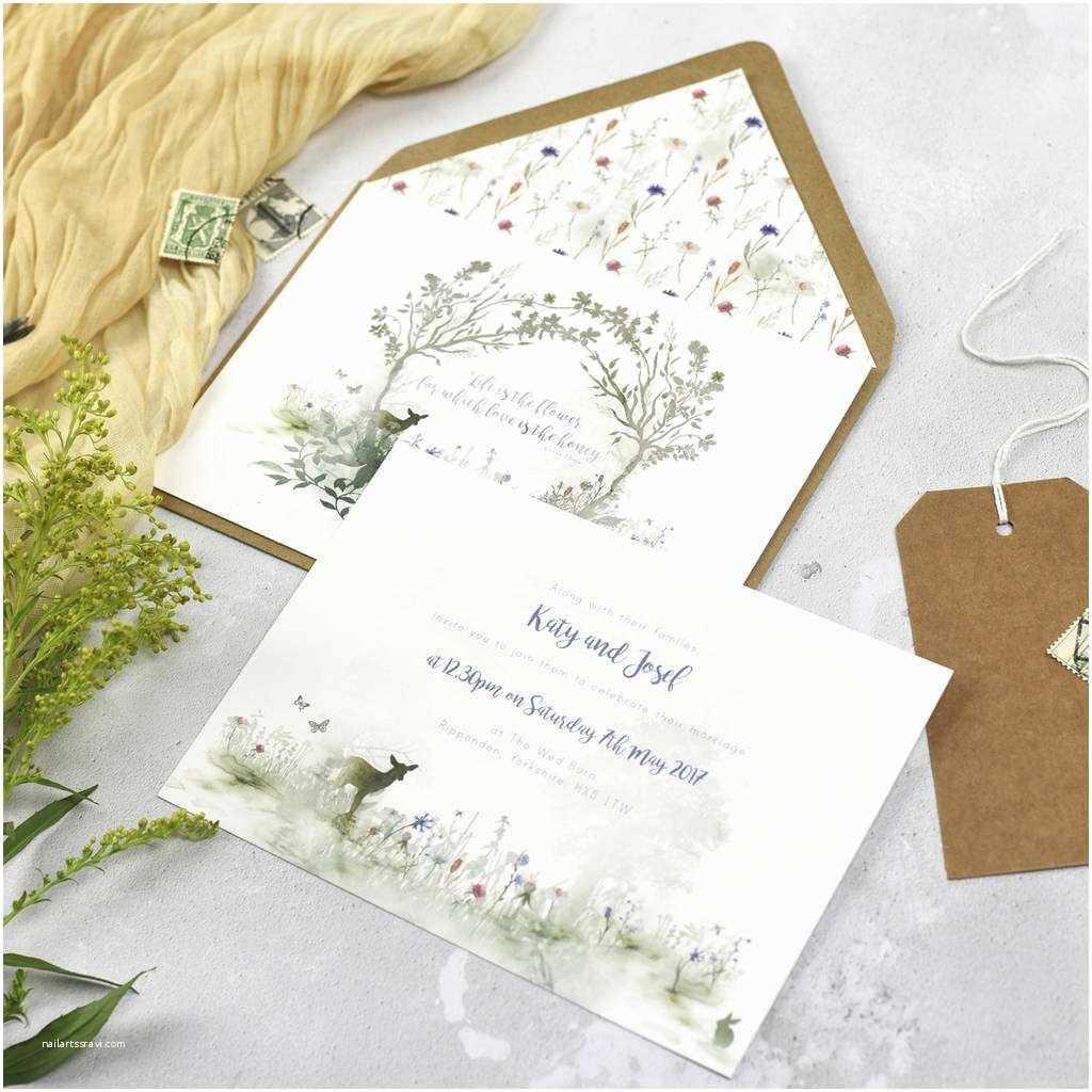 Wildflower Wedding Invitations Wildflower Wedding Invitations by Julia Eastwood