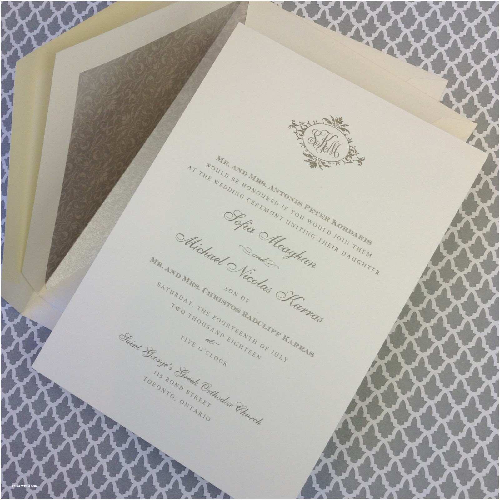 William Arthur Wedding Invitations New William Arthur Wedding Invitation Samples Fresh Ink