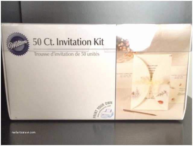 Wilton Wedding Invitation Kits Wilton Wedding Invitation Kit Review