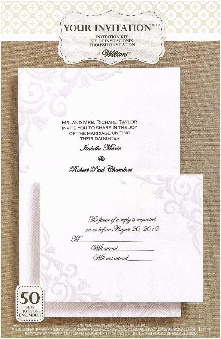 Wilton Wedding Invitations Wilton Wedding Invitations