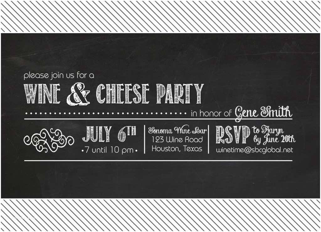 Wine and Cheese Party Invitations Wine and Cheese