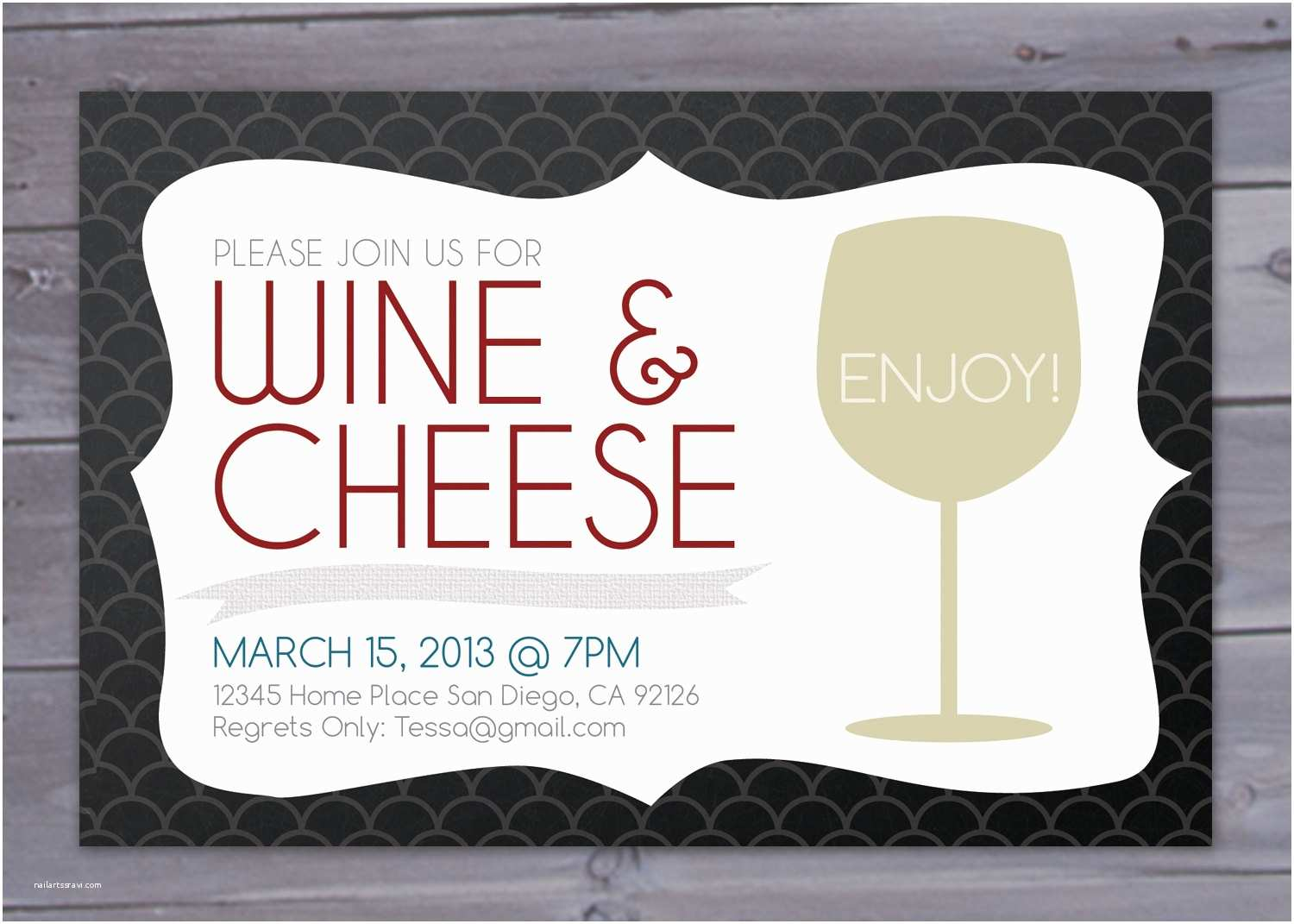Wine and Cheese Party Invitations Wine and Cheese Party Invitation Printable