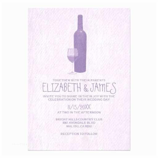 Wine Bottle Wedding Invitations formal Wine Bottles Wedding Invitations