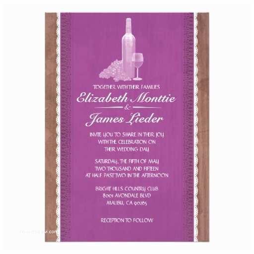 Wine Bottle Wedding Invitations Rustic Wine Bottles Wedding Invitations
