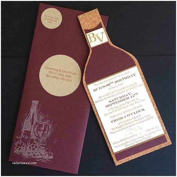 Wine Bottle Wedding Invitations Wine Bottle Invitations Custom Invitations Weddings