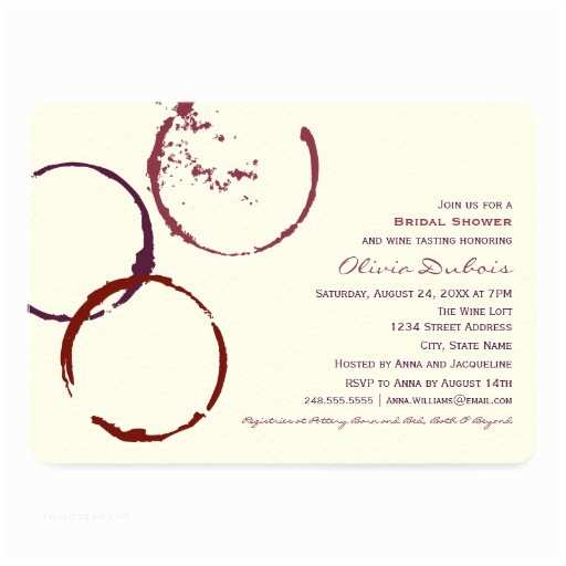Wine themed Bridal Shower Invitations 10 000 Wine Invitations Wine Announcements & Invites