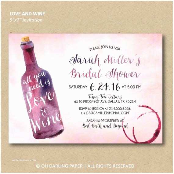 Wine themed Bridal Shower Invitations 25 Best Ideas About Bridal Shower Wine On Pinterest