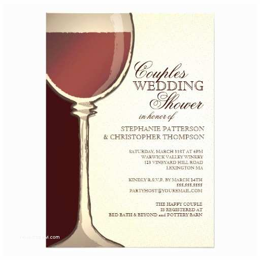 Wine themed Wedding Invitations Bridal Shower Invitations Bridal Shower Invitations Wine