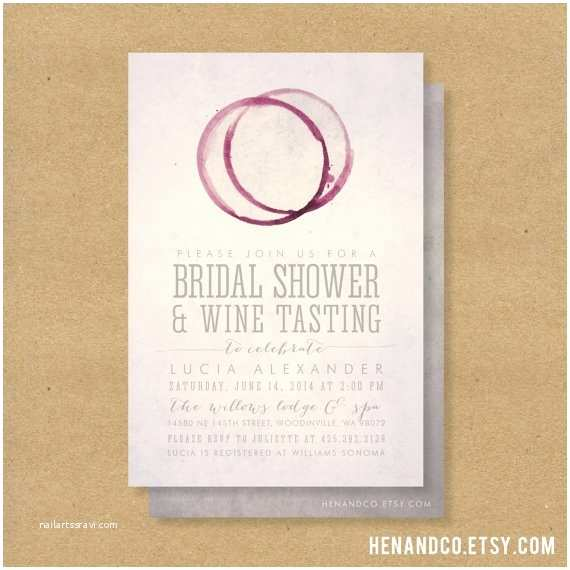 Wine themed Wedding Invitations Wine themed Bridal Shower Invitations Template Resume