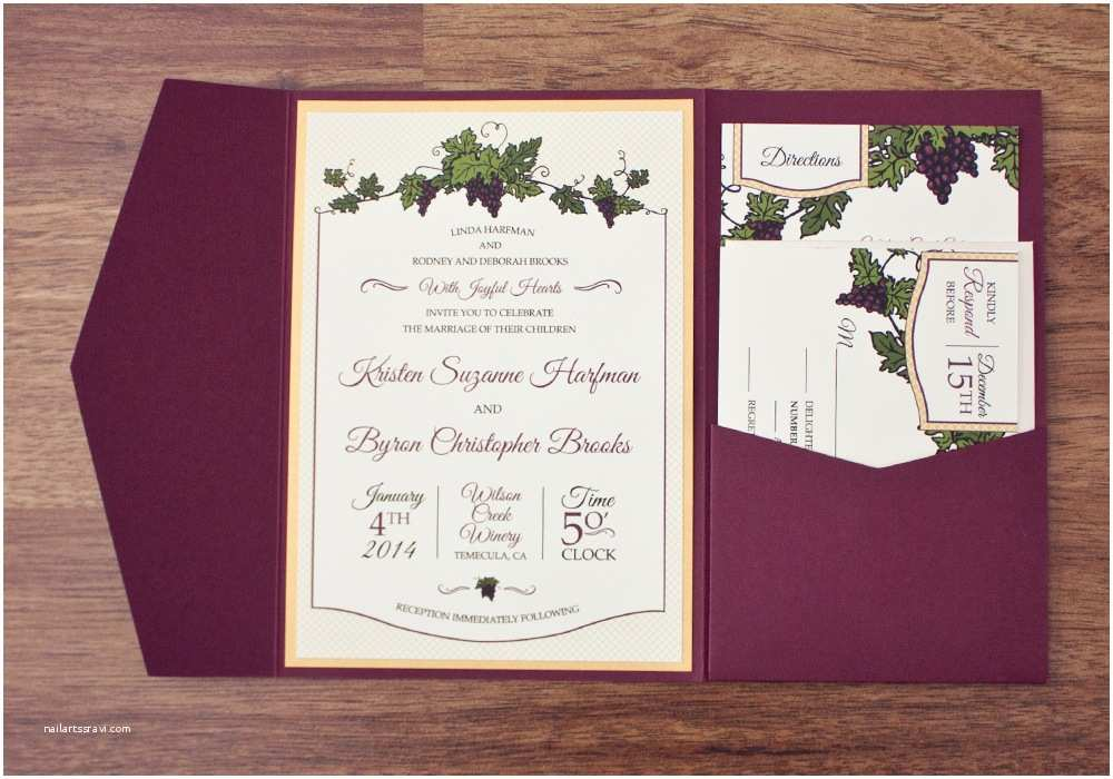 Winery Wedding Invitations Awe Inspiring Wine themed Wedding Invitations