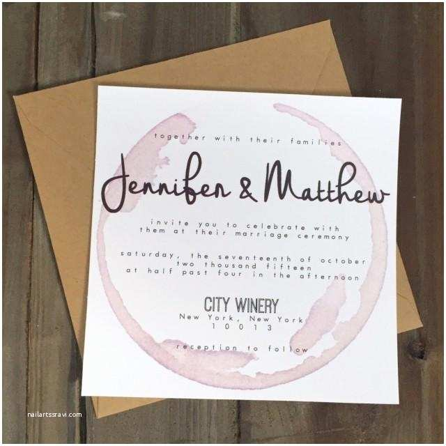 Winery Wedding Invitations Invitation Palomar Winery Wedding Invitation