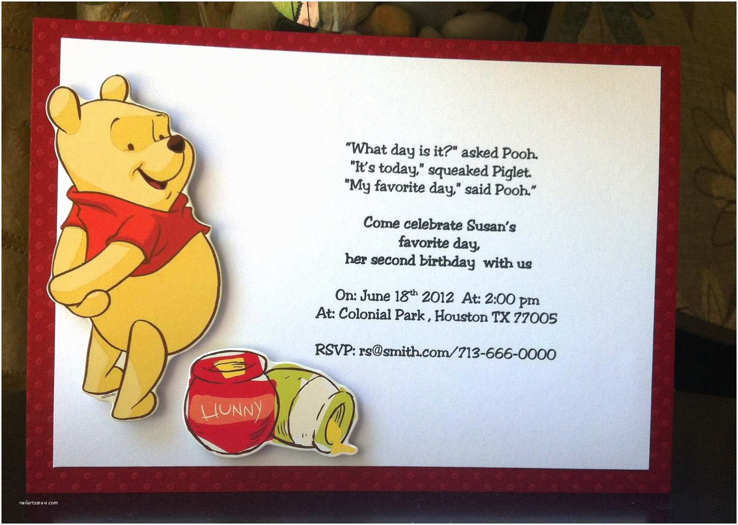 Winnie the Pooh Party Invites Chandeliers & Pendant Lights