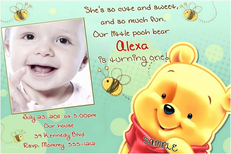 Winnie the Pooh Party Invites Winnie the Pooh Birthday Invitations Printable Card
